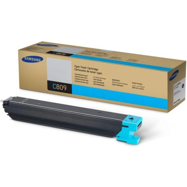 Картридж SAMSUNG CLT-C809S синий для CLX-9201/9251
