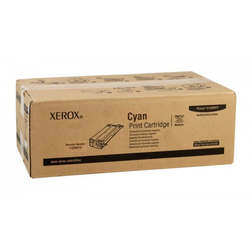 Принт-картридж XEROX 113R00719 синий стандартный для Phaser 6180