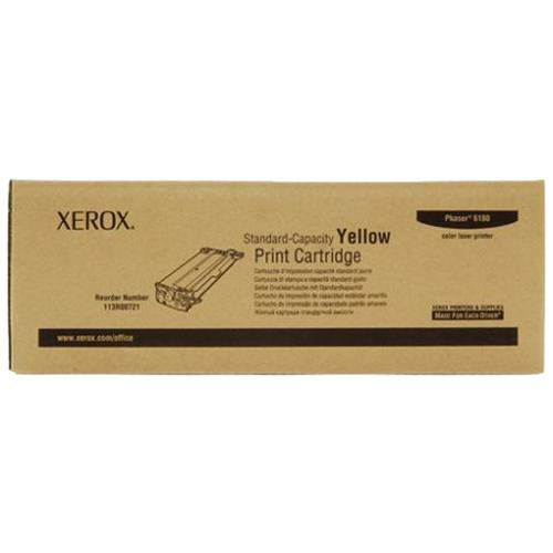 Принт-картридж XEROX 113R00721 желтый стандартный для Phaser 6180
