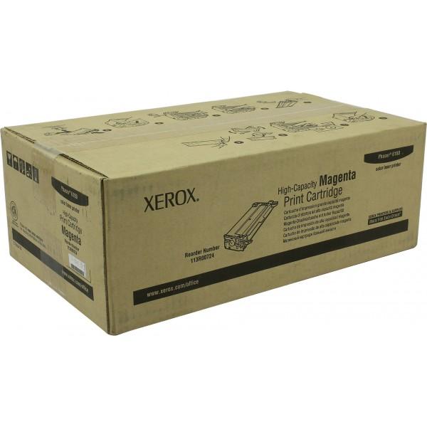 Принт-картридж XEROX 113R00724 малиновый увеличенный для Phaser 6180