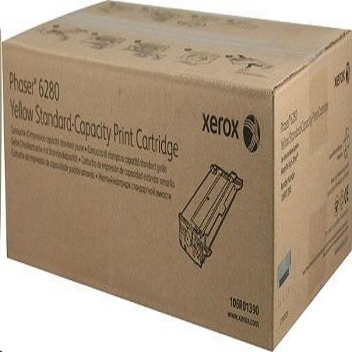 Принт-картридж XEROX 106R01390 желтый стандартный для Phaser 6280