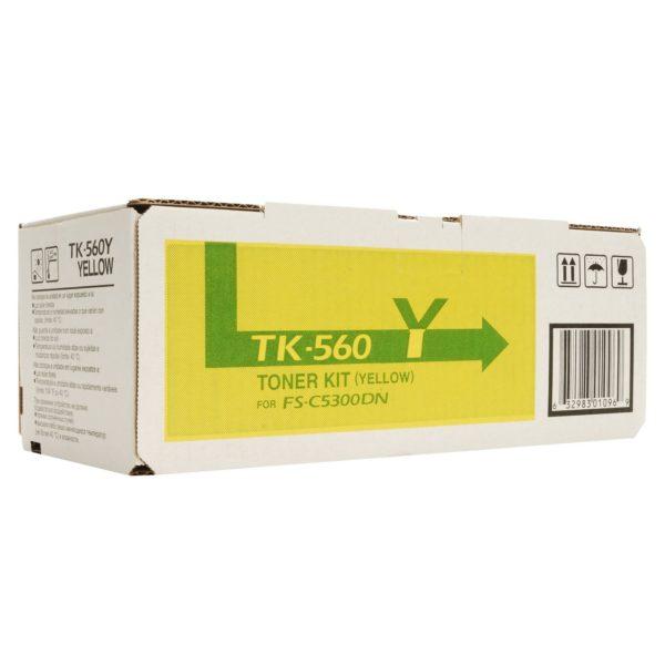 Тонер Kyocera TK-560Y желтый TK-560Y