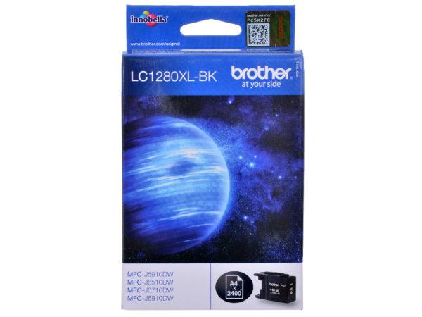 Картридж BROTHER LC1280XLBK черный увеличенный