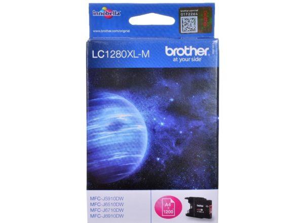 Картридж BROTHER LC1280XLM малиновый увеличенный