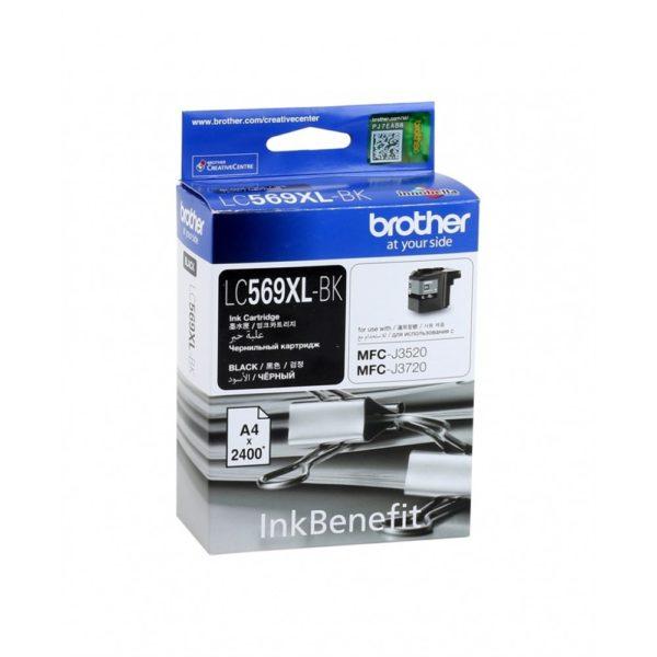 Картридж BROTHER LC569XLBK черный увеличенный