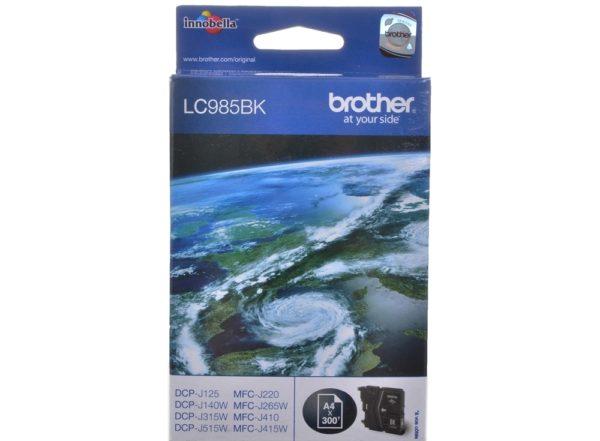 Картридж BROTHER LC985BK черный стандартный