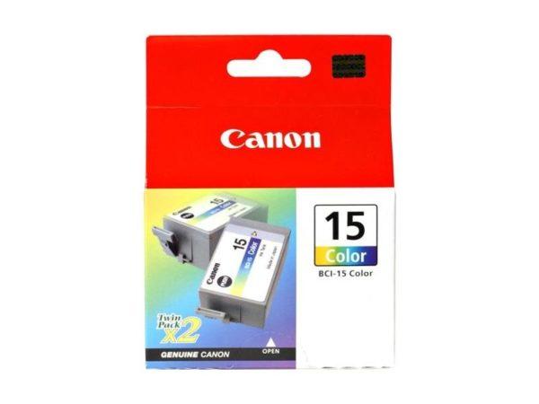 Картридж CANON BCI-15C, цветной, 2шт, для BJ-170