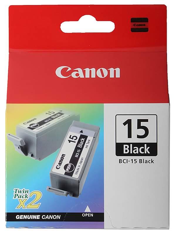 Картридж CANON BCI-15Bk, черный, 2шт, для BJ-170