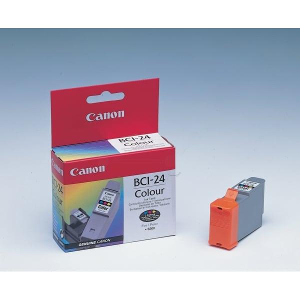 Картридж CANON BCI-24 цветной 1шт, для S-300