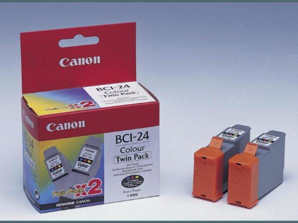 Картридж CANON BCI-24 цветной 2шт, для S-300