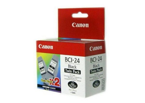 Картридж CANON BCI-24 черный 2шт, для S-300