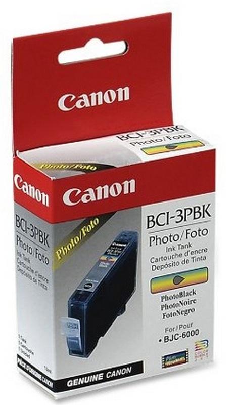 Картридж CANON BCI-3ePBk фото-черный для BJC-6000/3000