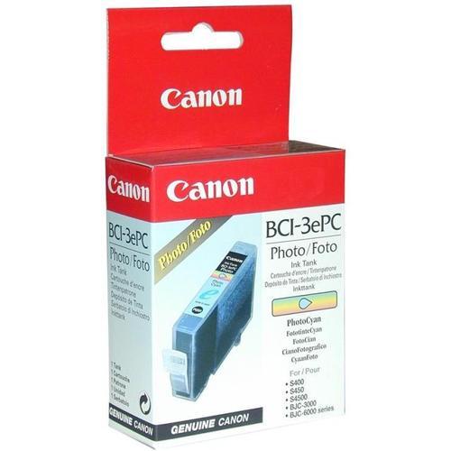 Картридж CANON BCI-3ePC фото-синий для BJC-6000/3000