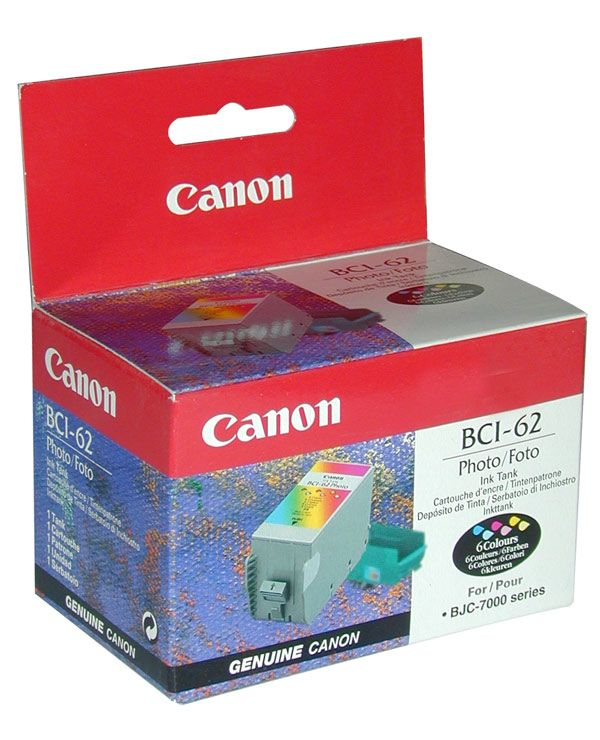 Картридж CANON BCI-62, чернильница для BC-62 (3 color)