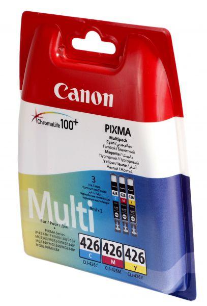 Картридж CANON CLI-426C/M/Y мульти-упаковка для Pixma IP4840,MG5140