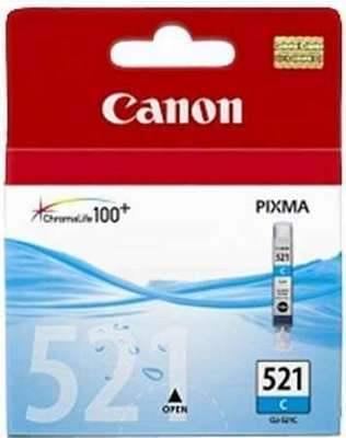 Картридж CANON CLI-521C голубой для PIXMA IP4600