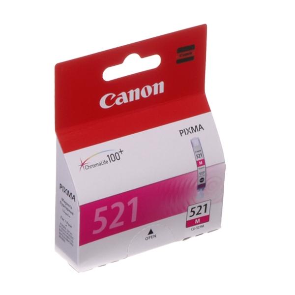 Картридж CANON CLI-521M малиновый для PIXMA IP4600