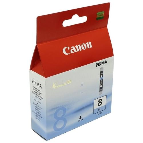 Картридж CANON CLI-8PС фото-синий для Pixma MP500/800, IP6600,5200,4200