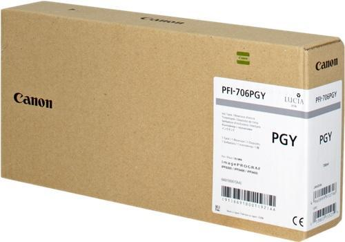 Картридж CANON PFI-706PGY фото-серый для imagePROGRAF 8300/8300S/8400/9400/9400S