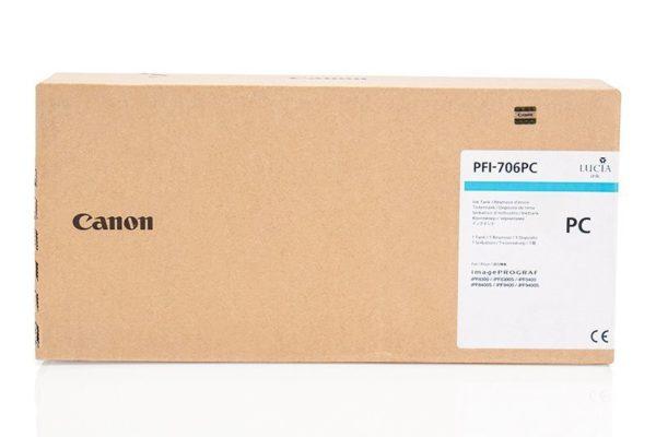 Картридж CANON PFI-706PC фото-синий для imagePROGRAF 8300/8300S/8400/9400/9400S