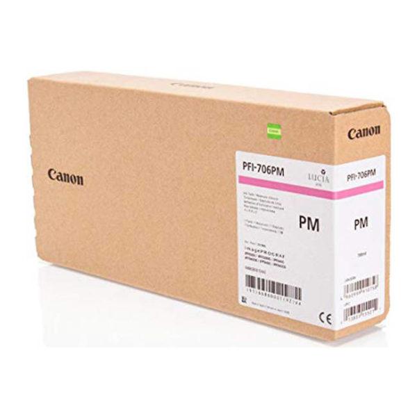 Картридж CANON PFI-706PM фото-малиновый для imagePROGRAF 8300/8300S/8400/9400/9400S