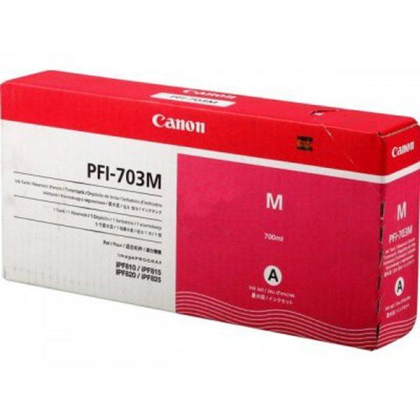 Картридж CANON PFI-703M малиновый для IPF810/815/820