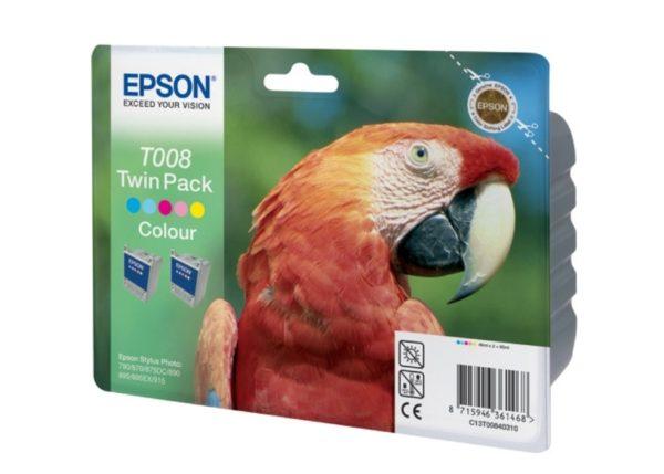 Картридж EPSON T008401 цветной для ST 790/870/890