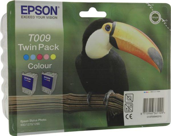 Картридж EPSON T00940210 цветной, двойная упаковка для ST 1270/1290