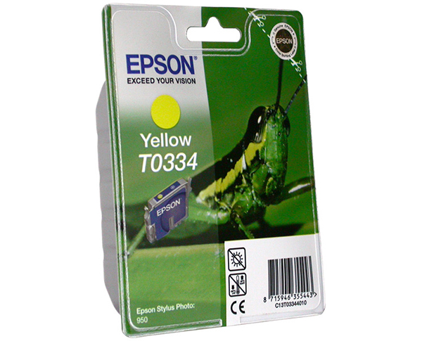 Картридж EPSON T033440 желтый для ST Photo 950