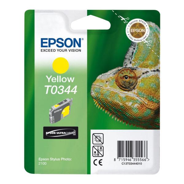 Картридж EPSON T034440 желтый для Sp 2100