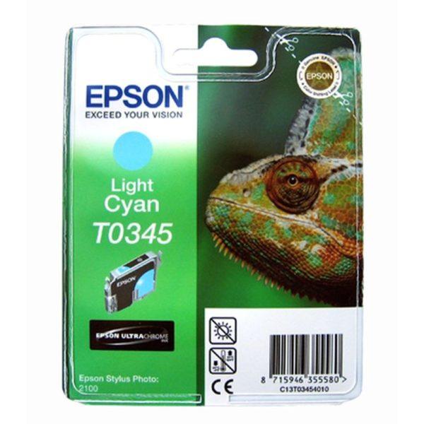 Картридж EPSON T034540 светло-синий для Sp 2100