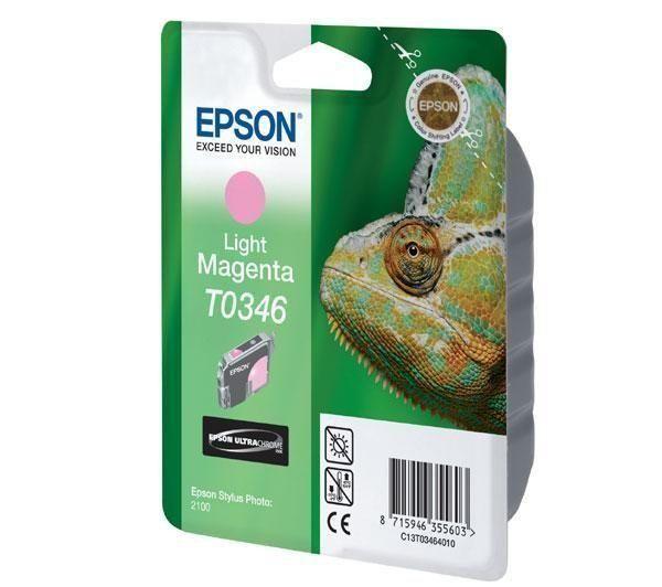 Картридж EPSON T034640 светло-малиновый для Sp 2100
