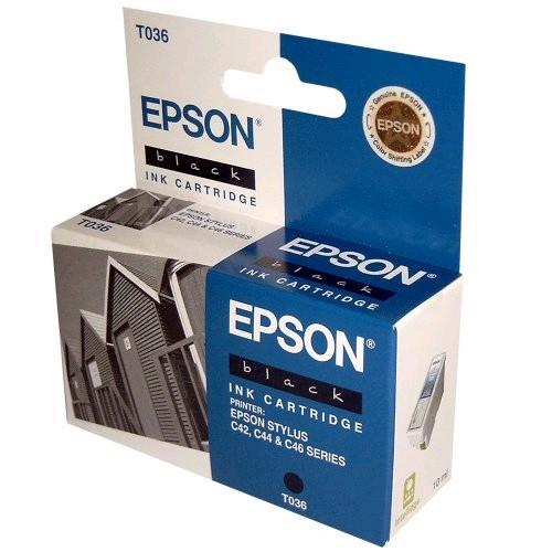 Картридж EPSON T036140 черный для ST С42