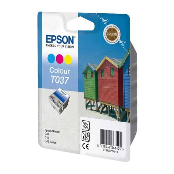 Картридж EPSON T037040 цветной для ST С42 c46