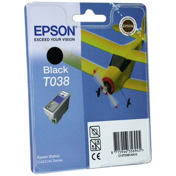 Картридж EPSON T03814A черный для ST C43/45