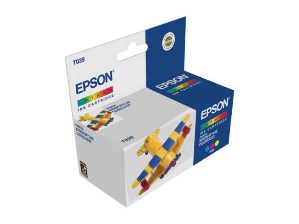 Картридж EPSON T03904A цветной для ST C43/45