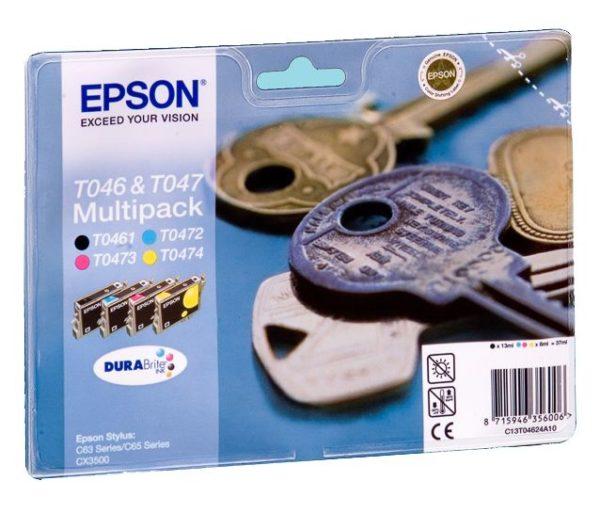 Картридж EPSON T04624A10 мульти-упаковка для ST C63/65/CX3500