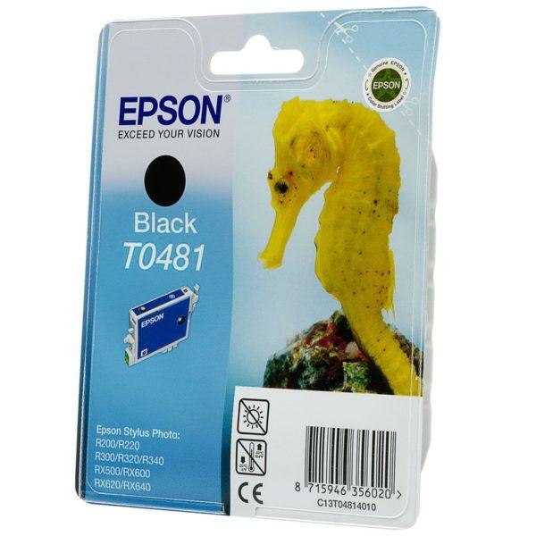 Картридж EPSON T048140 черный для R200/300/RX500/600/620/640