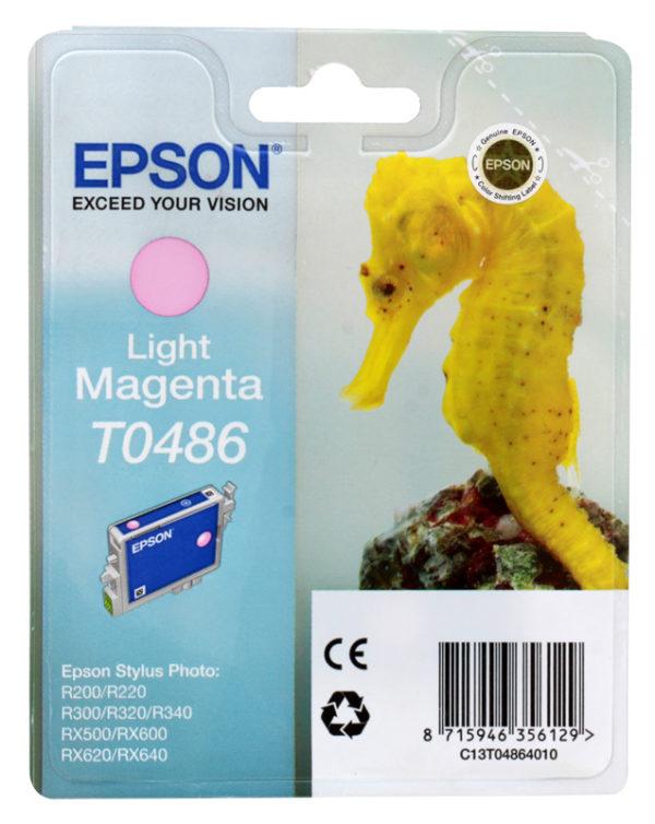 Картридж EPSON T048640 малиновый для R200/300/RX500/600/620/640