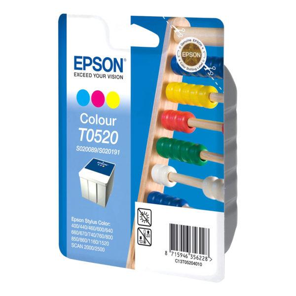 Картридж EPSON T052040 цветной для ST 440/640/740/1520/1160
