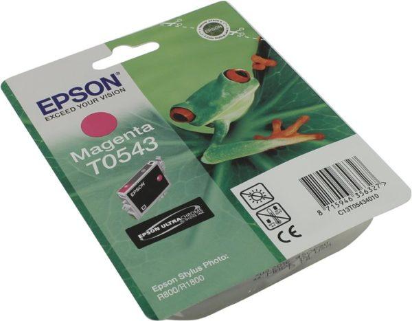 Картридж EPSON T054340 малиновый для ST Ph R800/1800