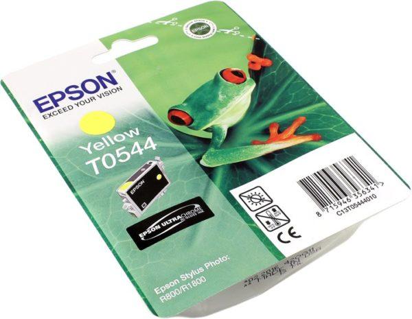 Картридж EPSON T054440 желтый для ST Ph R800/1800