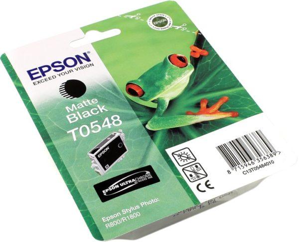 Картридж EPSON T054840 матовый-черный для ST Ph R800/1800