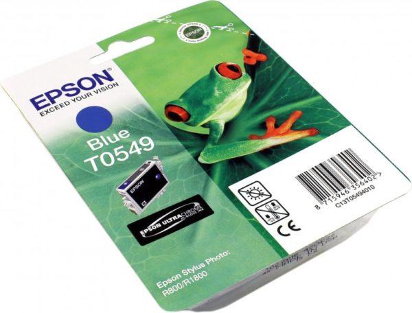 Картридж EPSON T054940 синий для ST Ph R800/1800