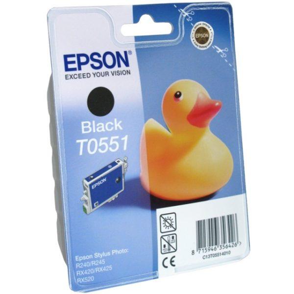 Картридж EPSON T055140 черный для ST RX-520/R-240