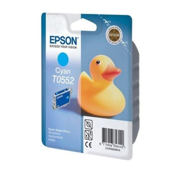 Картридж EPSON T055240 синий для ST RX-520/R-240