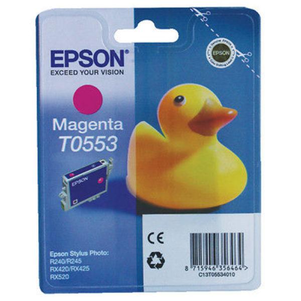 Картридж EPSON T055340 малиновый для ST RX-520/R-240