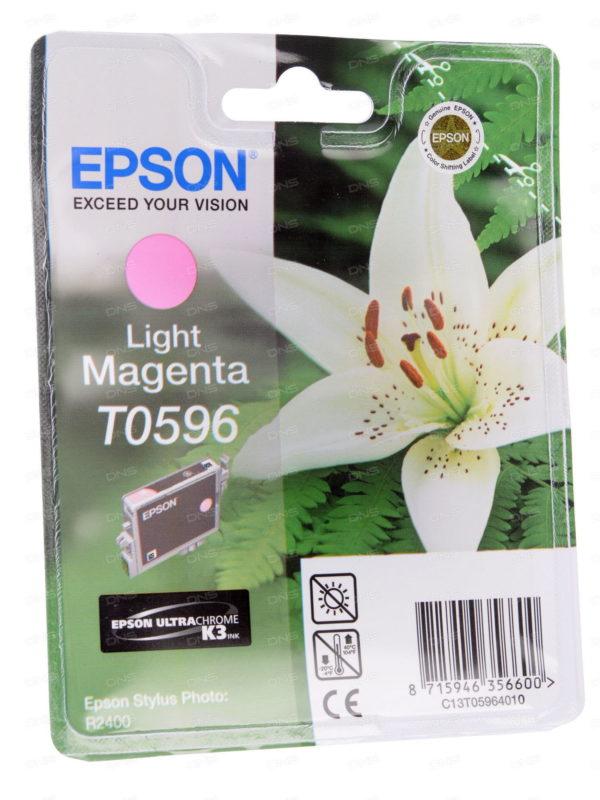 Картридж EPSON T059640 светло-малиновый для PH R2400