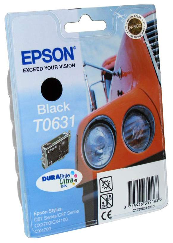 Картридж EPSON T06314A черный для ST C67/87