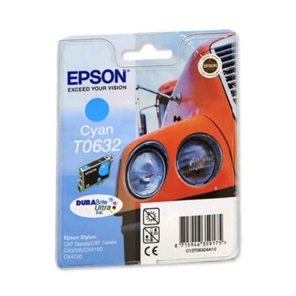 Картридж EPSON T06324A синий для ST C67/87